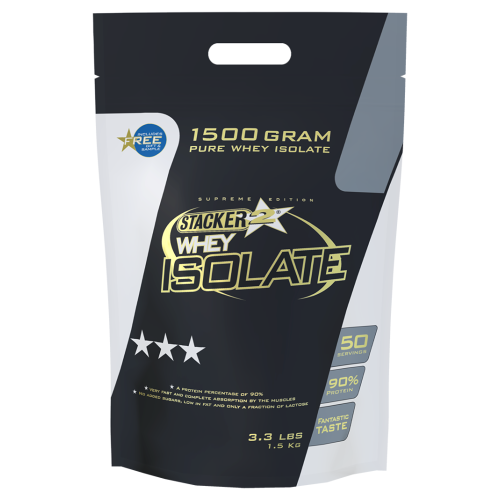 STACKER 2 WHEY ISOLATE 1.5KG - jokasport.nl