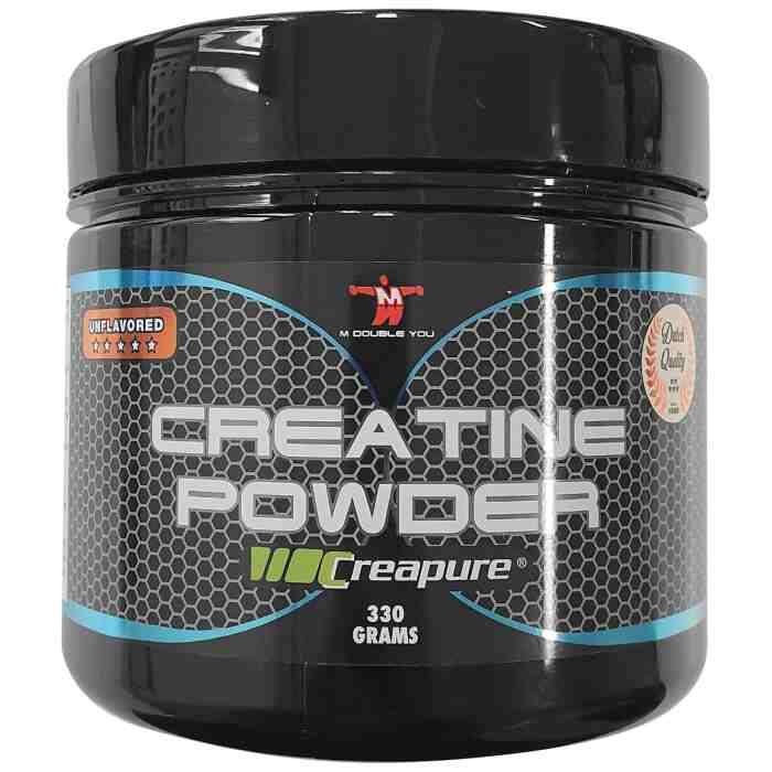 M Double You Creatine Powder met Creapure®