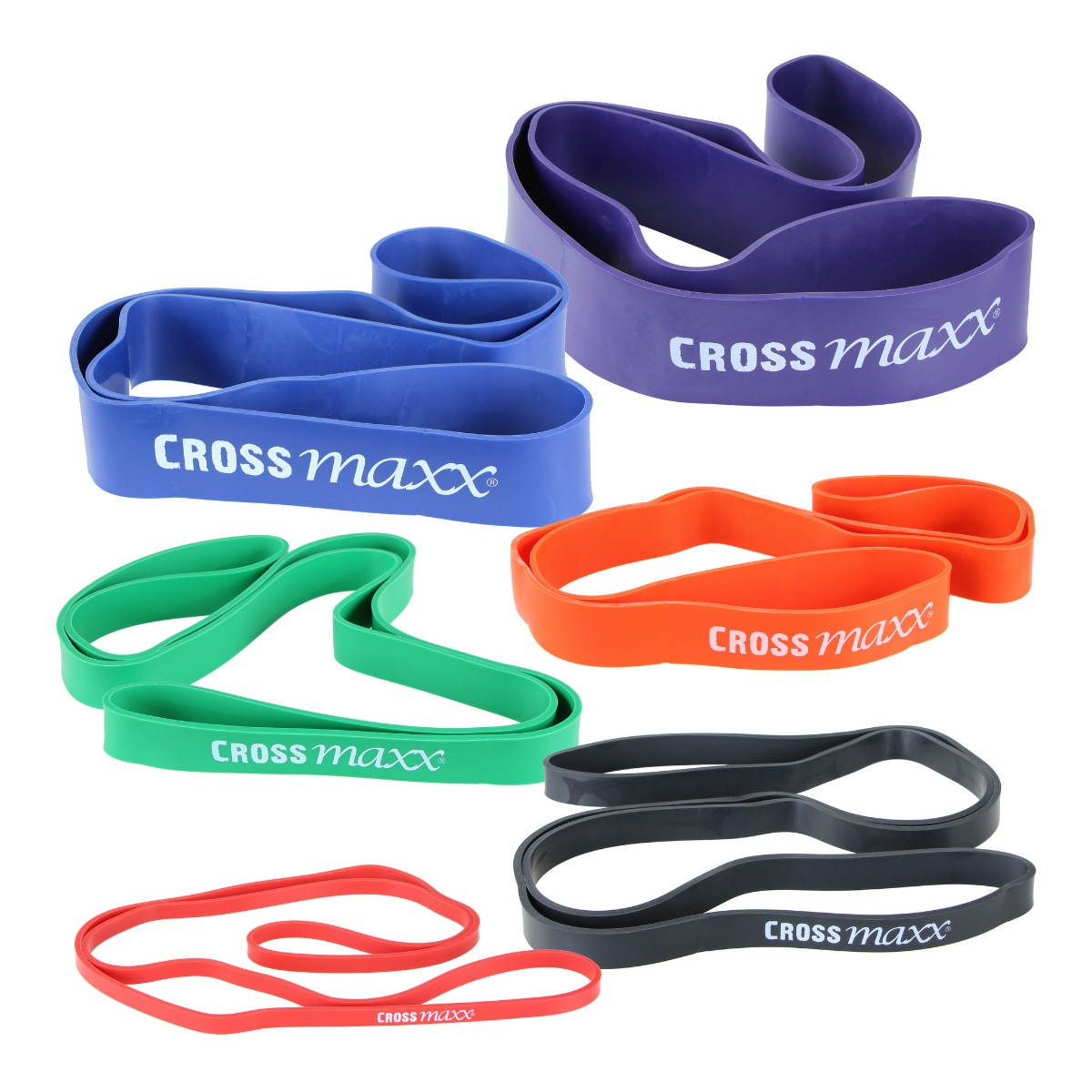 LMX Crossmaxx Weerstandsband 104 cm - Niveau 1 - Rood-498901