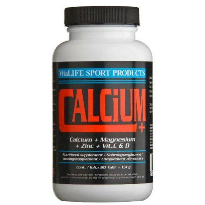 VitaLIFE Calcium+ (met magnesium & zink)-0