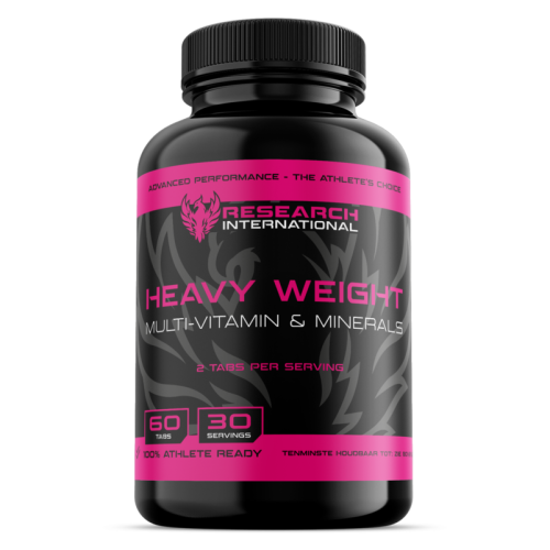 Research Heavy Weight Multivitamines & Mineralen (60 tabs) - jokasport.nl