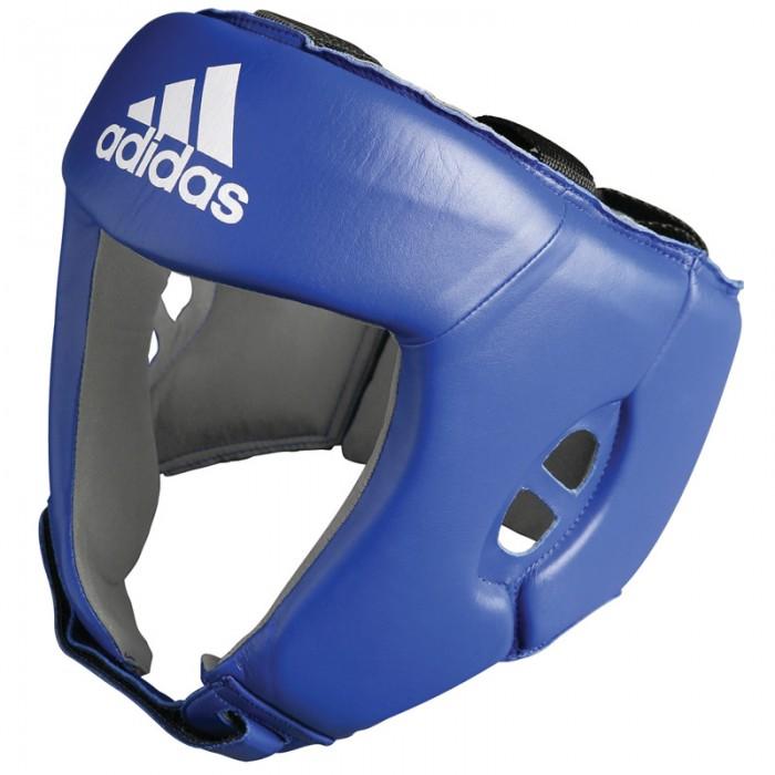 Adidas AIBA hoofdbeschermer blauw - jokasport.nl