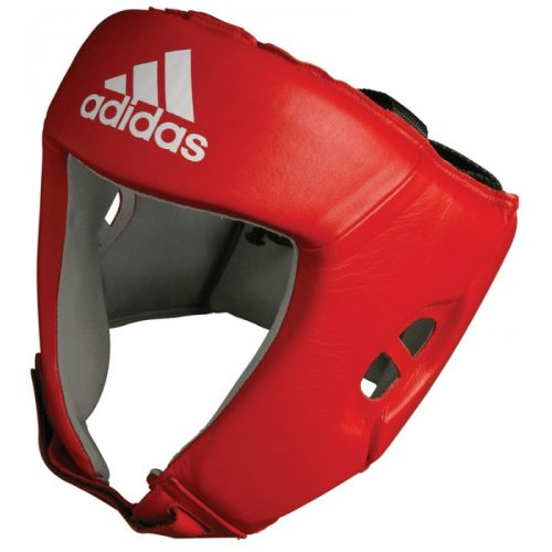 Adidas AIBA hoofdbeschermer rood - jokasport.nl