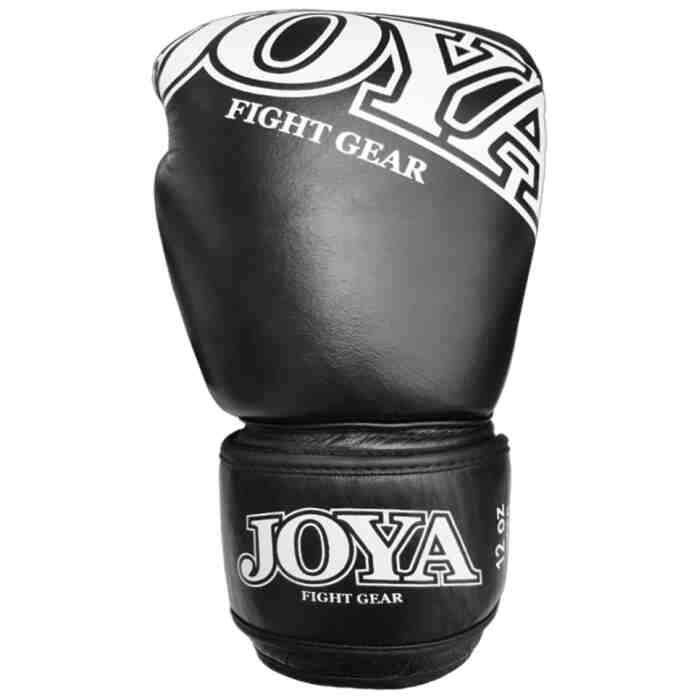 """Joya """"Thai"""" Kickbokshandschoenen Leer Zwart-541444"""