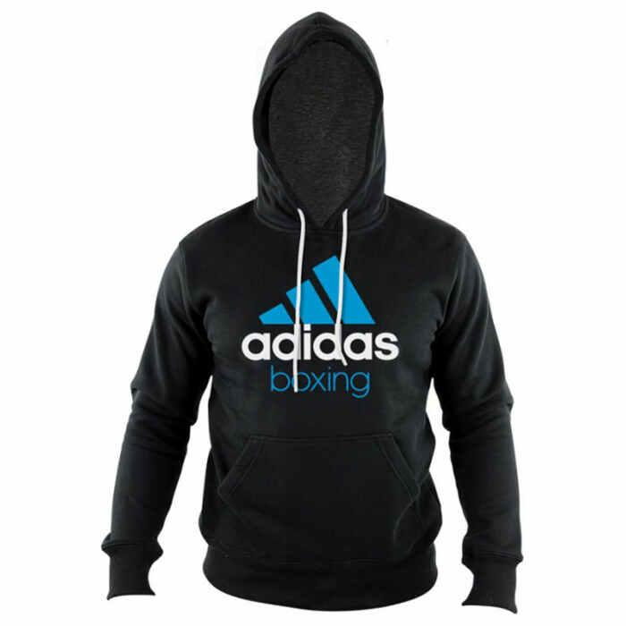 Adidas Community Hoodie Zwart/Blauw - jokasport.nl