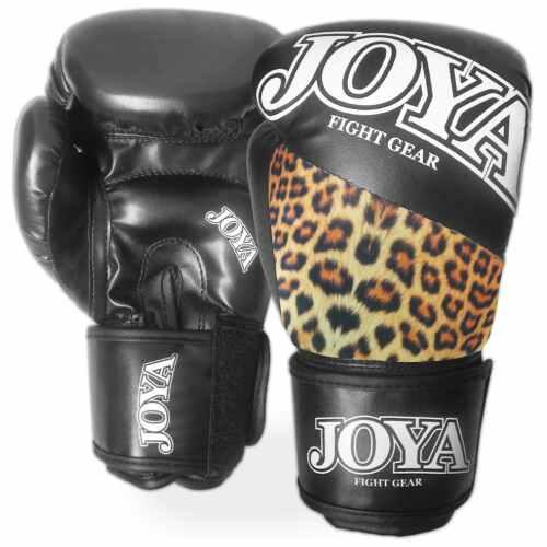 "Joya ""Top One"" Skintex Bokshandschoenen Leopard-6 oz.-0"