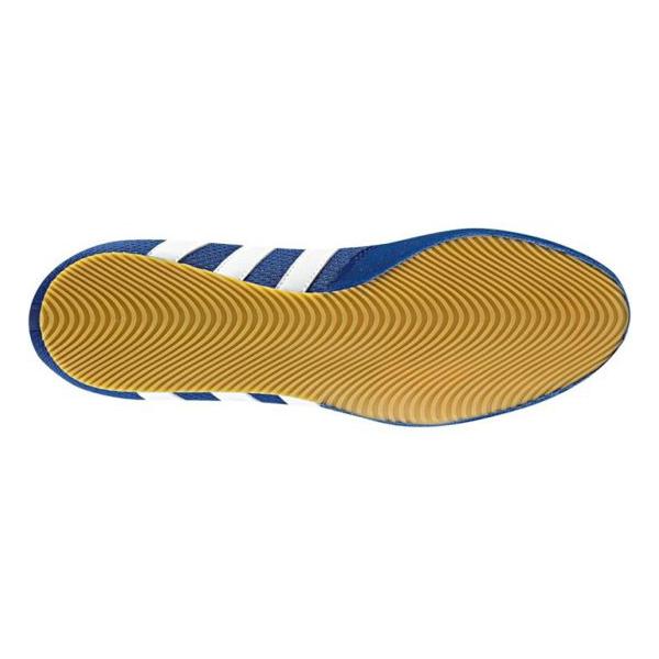 Adidas Box Hog II Boksschoenen Blauw - Wit - jokasport.nl