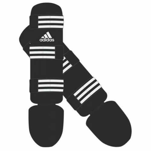 Adidas Scheenbeschermer Zwart/Roze (adiGSS013)