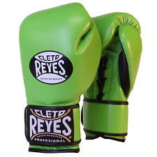 Cleto Reyes Boxing Gloves Green - jokasport.nl