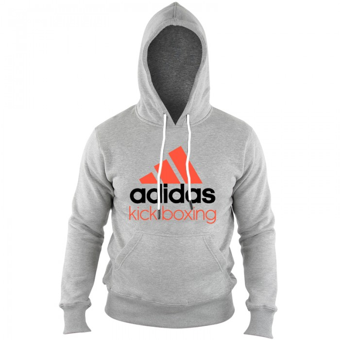 Adidas Community Hoodie Grijs/Oranje