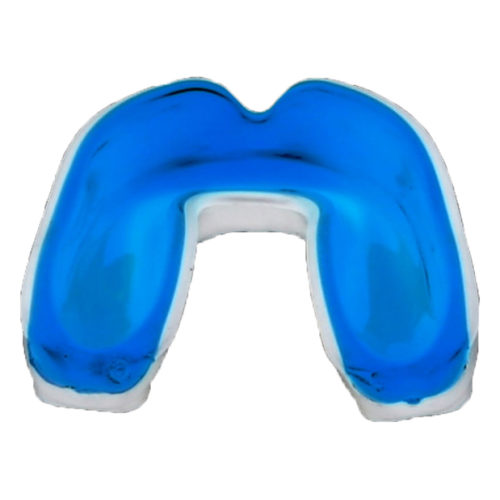 Wacoku Gel Mouthguard White / Blue Junior - jokasport.nl