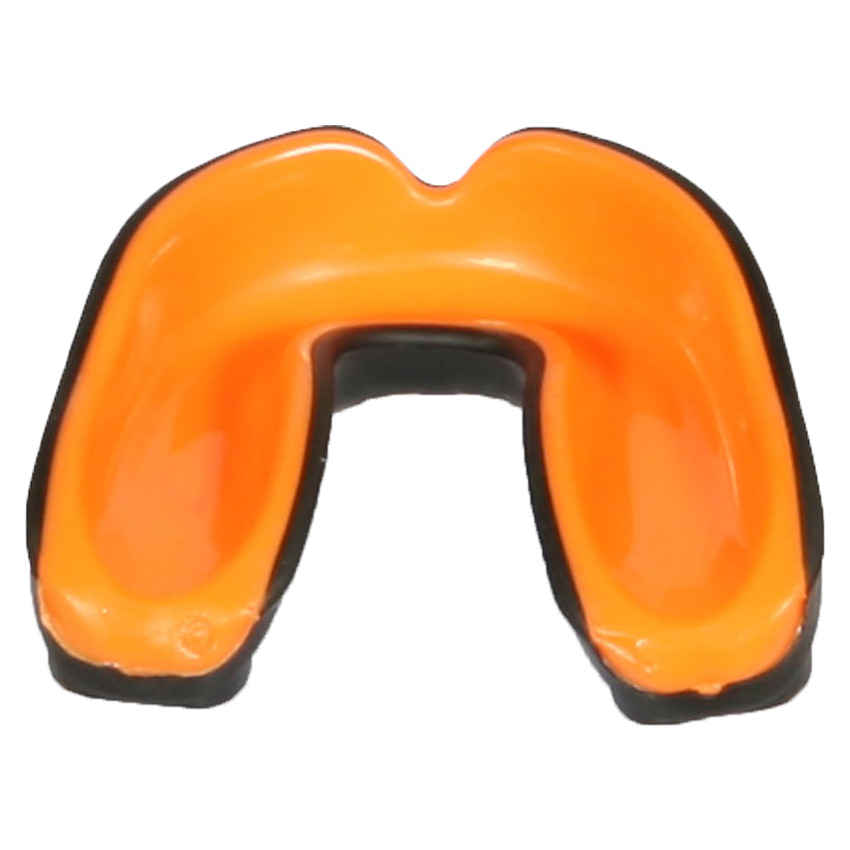 Wacoku Gel Mouthguard Black / Orange Adult - jokasport.nl