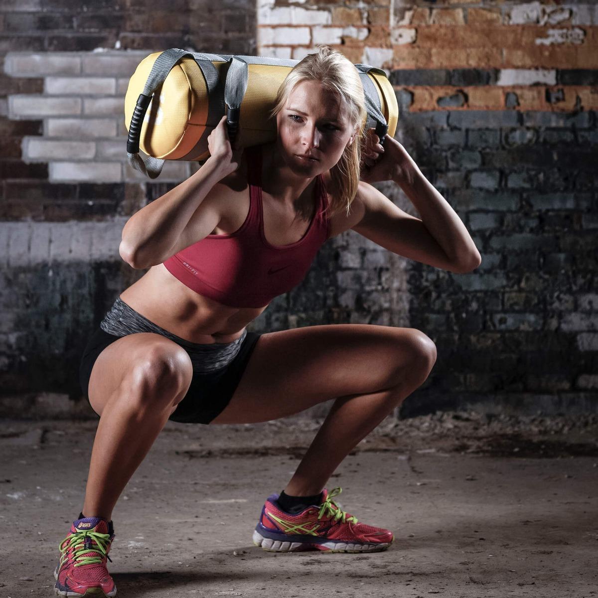 Tunturi Weightbag – Gewichtszak – Power Bag – 20 kilo-531508