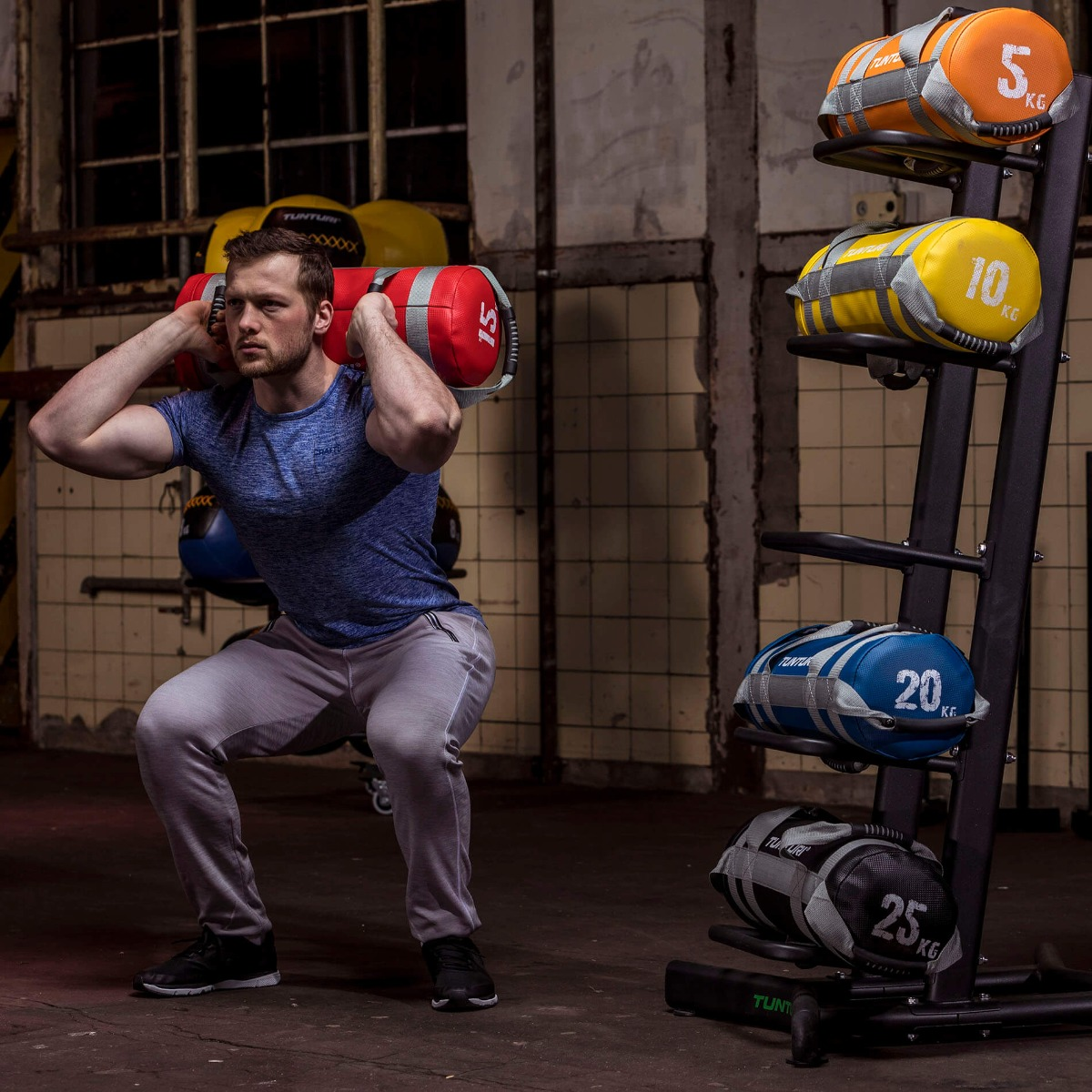 Tunturi Weightbag – Gewichtszak – Power Bag – 20 kilo-531511