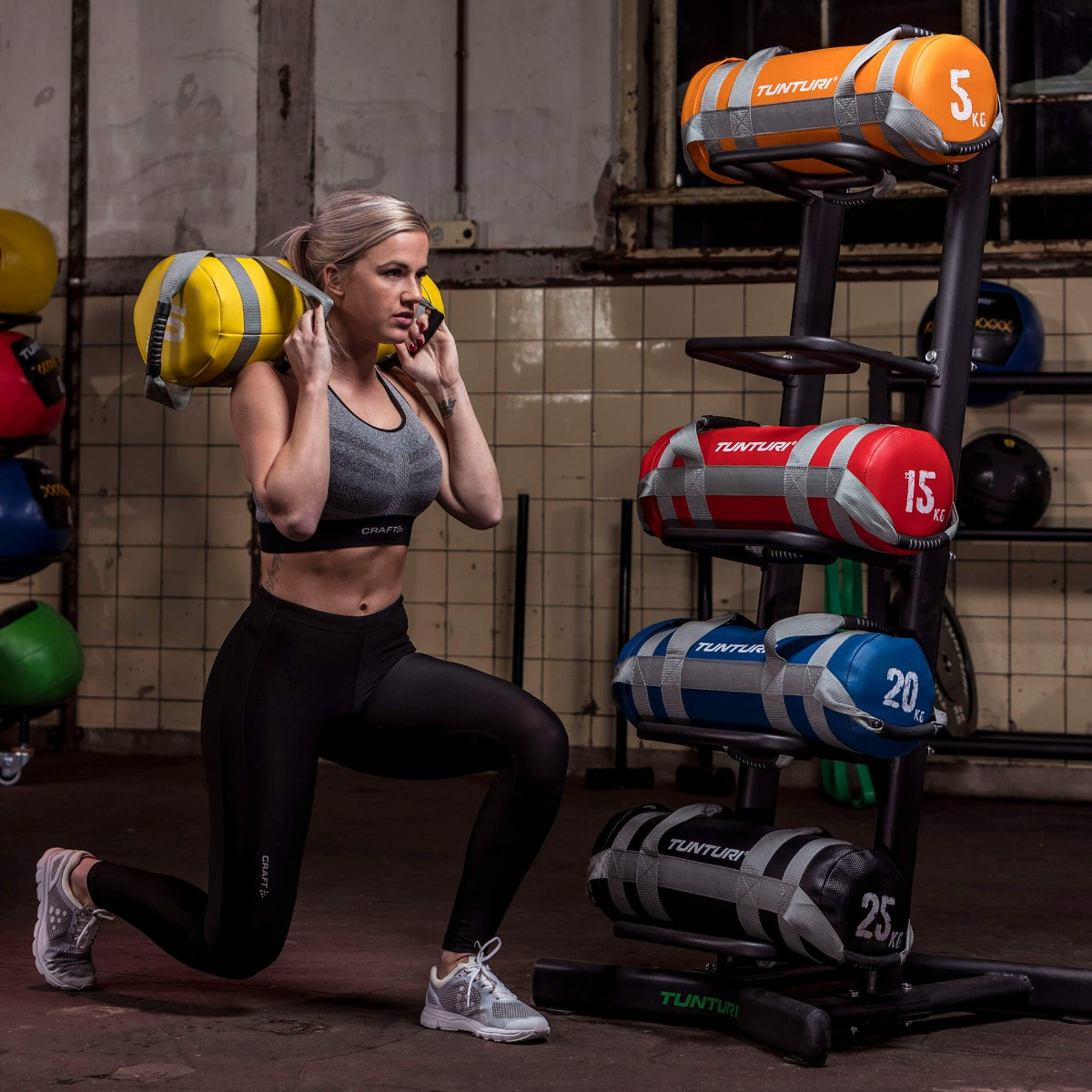 Tunturi Weightbag – Gewichtszak – Power Bag – 20 kilo-531513