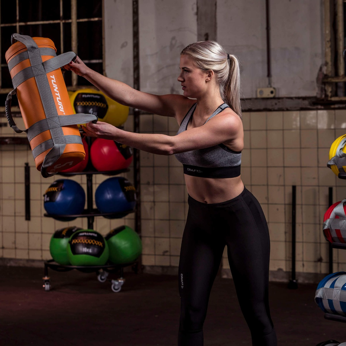 Tunturi Weightbag – Gewichtszak – Power Bag – 20 kilo-531514
