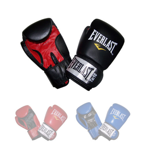 "Everlast ""Fighter"" Leather Boxing Gloves diverse Kleuren"