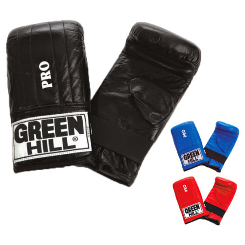 "Green Hill ""PRO"" Bag Gloves Leather - jokasport.nl"
