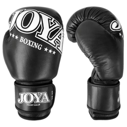 "Joya Boxing Glove ""New Model"" Leather All-Black - jokasport.nl"