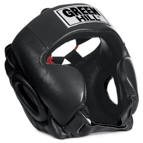 "Green Hill Head Guard ""Club"" Black"