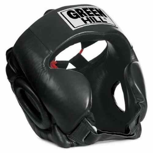"""Green Hill Head Guard """"Club"""" Black"""