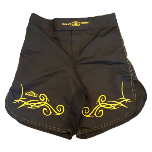 Ichiban Tribal Trunk Black / Yellow - jokasport.nl