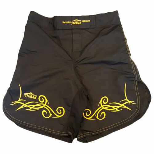 Ichiban Tribal Trunk Black / Yellow - jokasport.nl