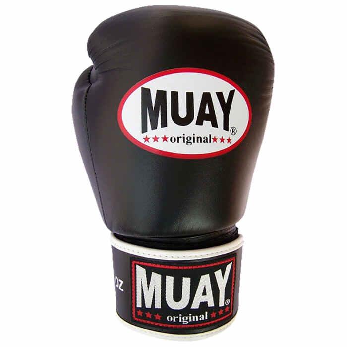 Muay Boxing Gloves Black - jokasport.nl