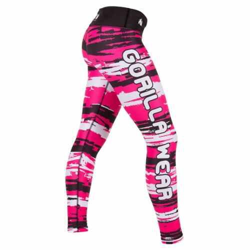 Gorilla Wear Santa Fe Tights Pink - jokasport.nl