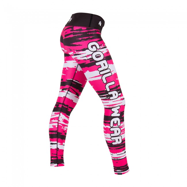 Gorilla Wear Santa Fe Tights Pink - jokasport.nl