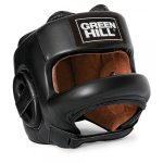 "Green Hill Head Guard ""Castle"" Black – jokasport.nl"