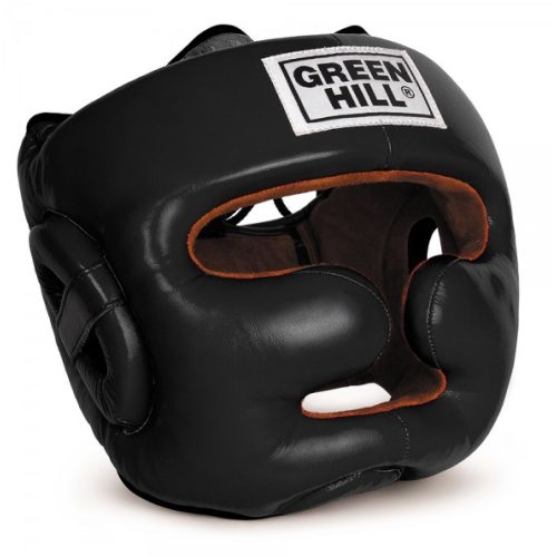 "Green Hill Head Guard ""LUX"" Black - jokasport.nl"