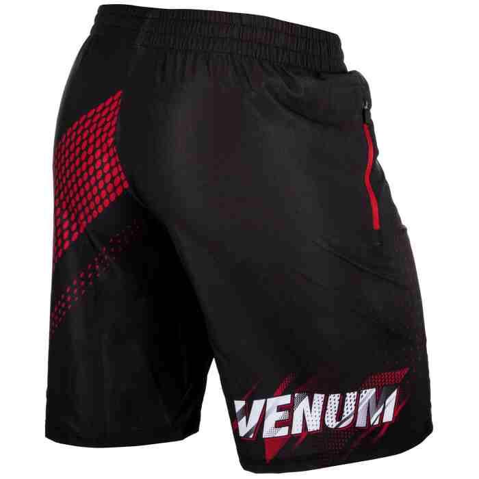 Venum Rapid Fitness Shorts-Black/Red achterkant