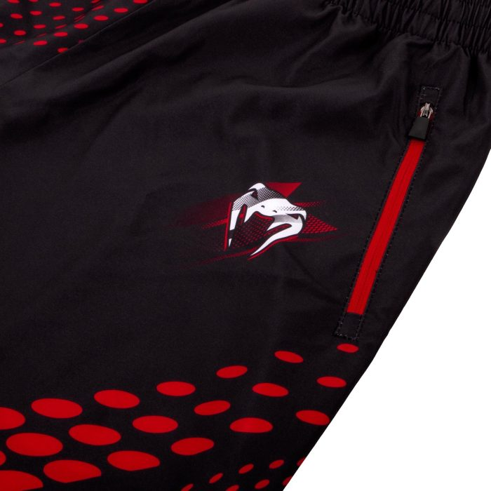 Venum Rapid Fitness Shorts-Black/Red detail rits