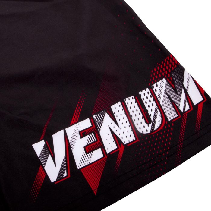 Venum Rapid Fitness Shorts-Black/Red detail