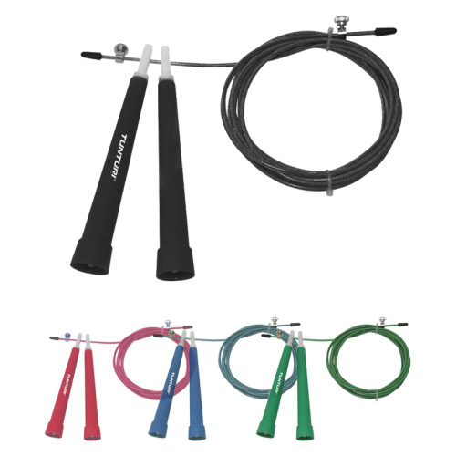 Tunturi Adjustable Steel Jump Rope - jokasport.nl