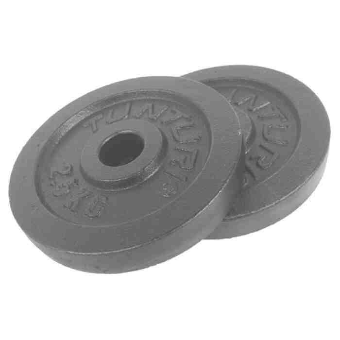 Tunturi Halterschijven Ø 30mm - 2,5 kilo - per paar - jokasport.nl