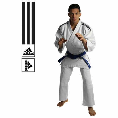 Adidas Judopak J350 Club Wit/Zwart - jokasport.nl