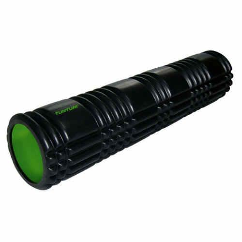 Tunturi Yoga Foam Grid Roller 61cm Zwart - jokasport.nl
