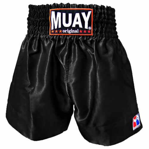 Muay Short All Black - jokasport.nl