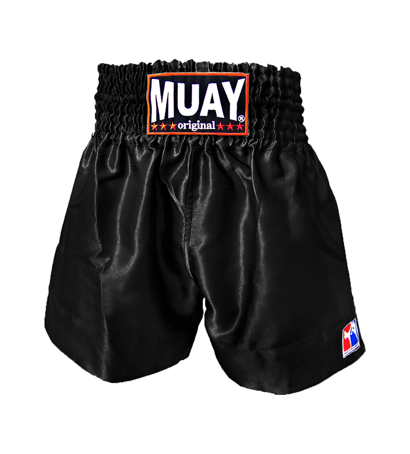 Muay Short All Black – jokasport.nl