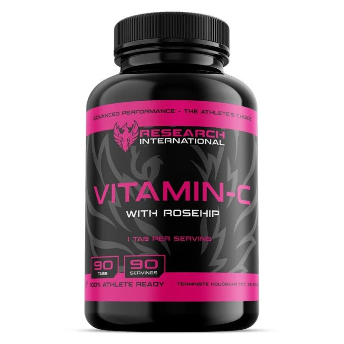 Fast Research Vitamine C (90 tabs) - jokasport.nl