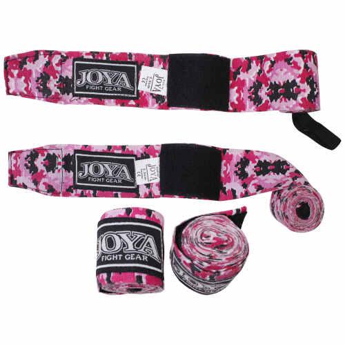 Joya Bandage Camouflage Roze Junior 2,8mtr - jokasport.nl