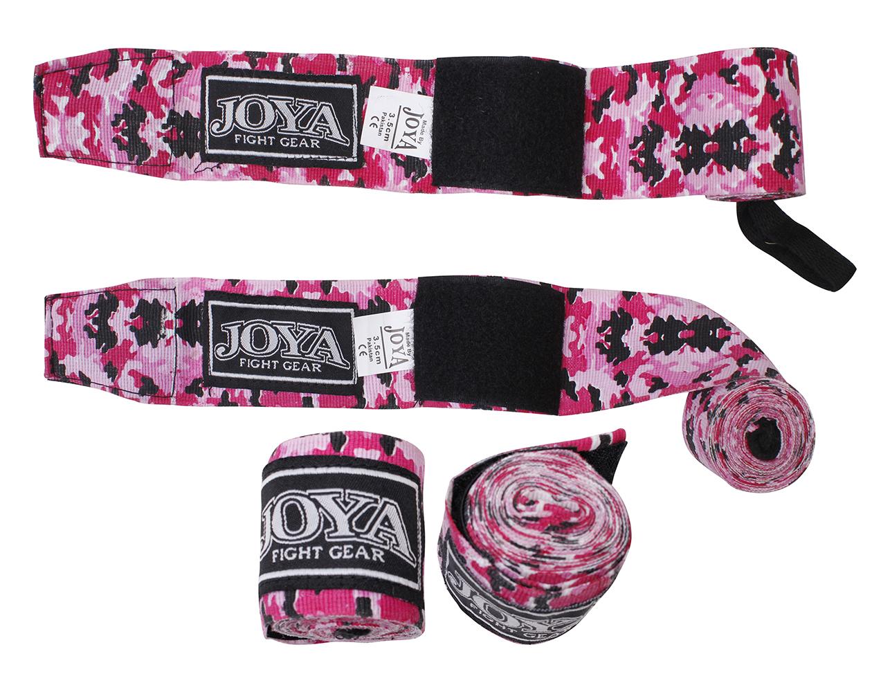 Joya Bandage Camouflage Roze Junior 2,8mtr – jokasport.nl