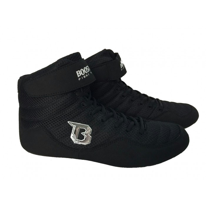 Booster BSC Black Boxing Shoes