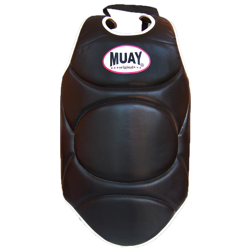 Muay Body Protector PU Zwart - jokasport.nl