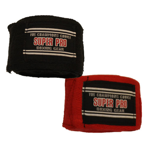 Super Pro 100% Cotton Hand Wraps