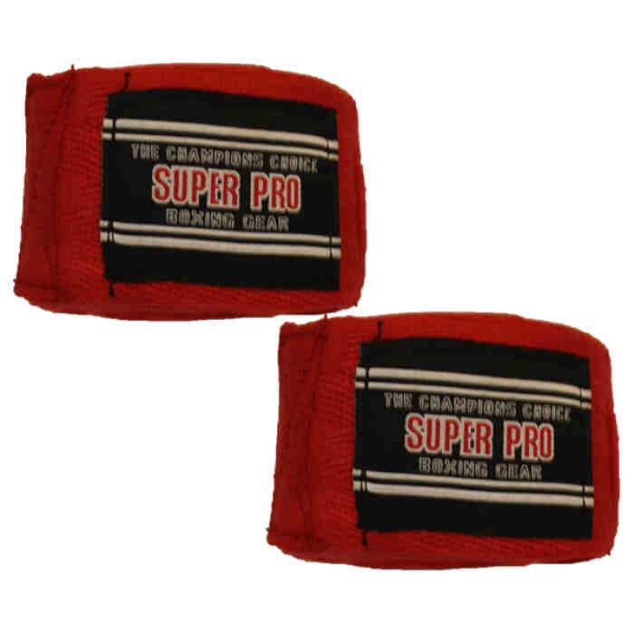 Super Pro 100% Cotton Hand Wraps