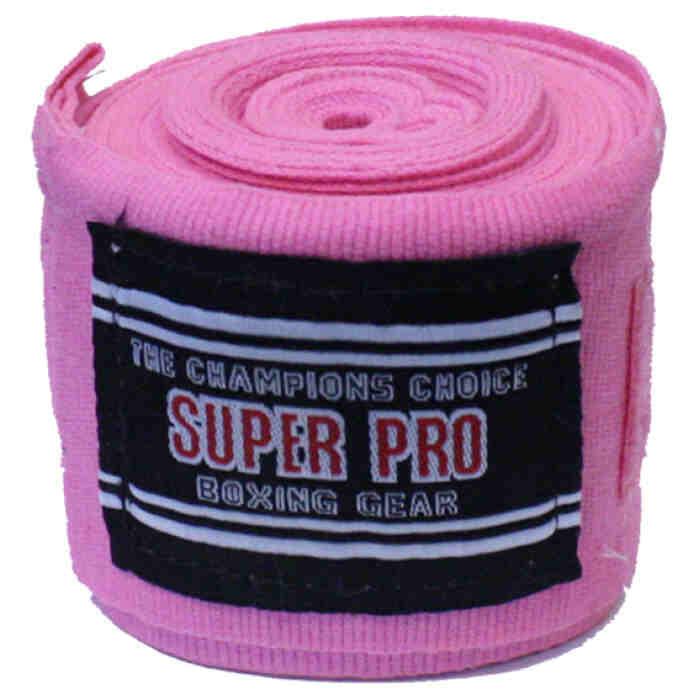 Super Pro Nylon Rigid Hand Wraps sp-2343 - jokasport.nl
