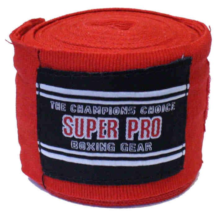 Super Pro Nylon Rigid Hand Wraps sp-2341 - jokasport.nl